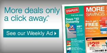 More  deals only a click away.^ See our Weekly Ad.