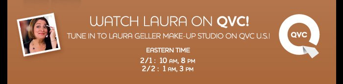 Watch Laura on QVC!
