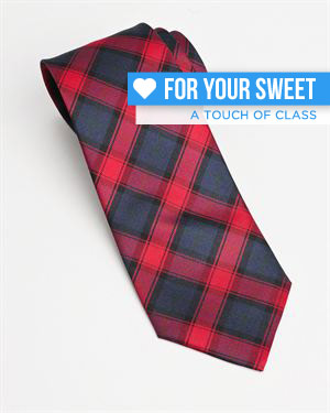 Valentino Cravatta Check Tie - Made In Italy