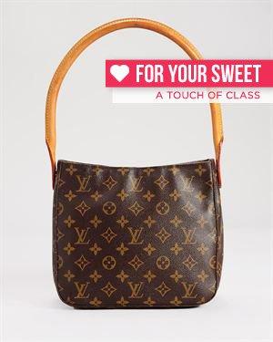 Louis Vuitton Monogram Looping Handbag, 7/10 Condition