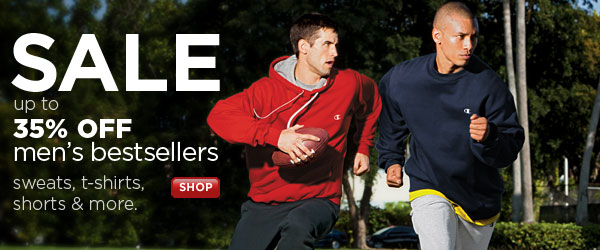 SHOP Men's Bestsellers up to 35% OFF