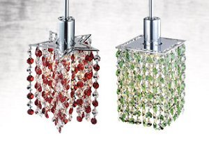 NEW MARKDOWNS: MINI CRYSTAL CHANDELIERS