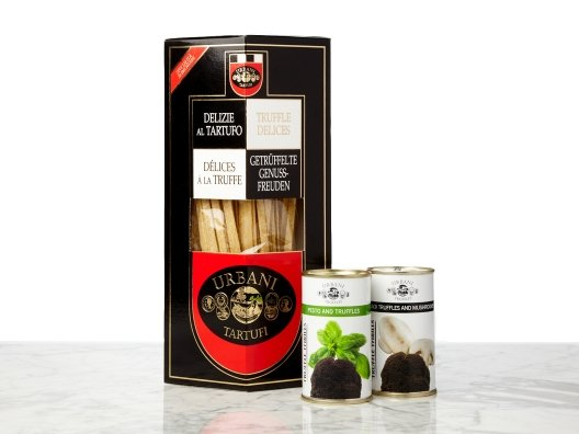 Here's one reason I love Urbani. In addition to whole truffles, this Italian-based company makes fantastic ready-to-use products.