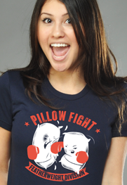 Pillow Fight Featherweight Division