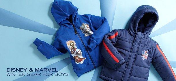 DISNEY & MARVEL: WINTER GEAR FOR BOYS, Event Ends January 26, 9:00 AM PT >