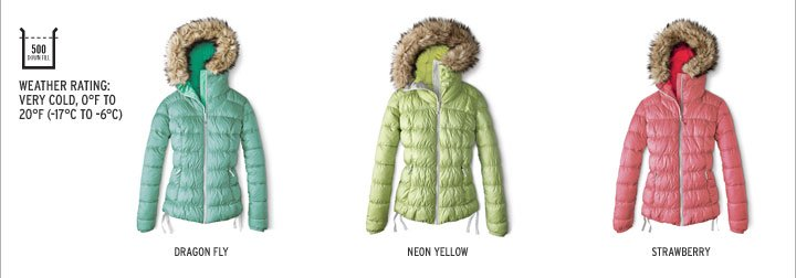Northern Aurora Down Jacket
