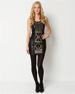 Milkyway Studded Mini Dress $25