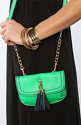 The Scout Bag in Neon Green
