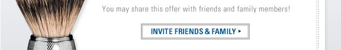 You may share this offer with friends and family members. Click here to send an invitation!