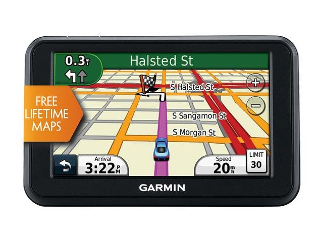 GARMIN nuvi 40LM 4.3 inch GPS Navigation w/ Lifetime Map Updates