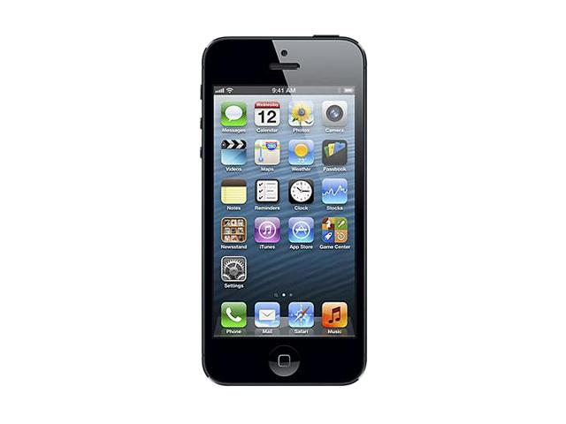 Apple iPhone 5 Black & Slate 4G LTE Unlocked Smart Phone with 4 inch Screen / iOS 6 / 16GB Memory