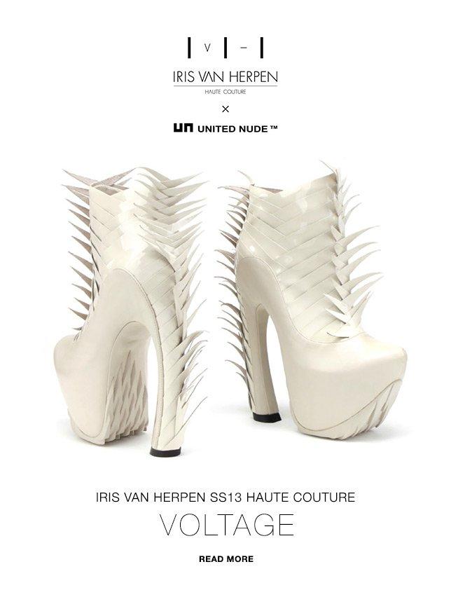 Iris van Herpen X United Nude | SS13 Haute Couture - VOLTAGE