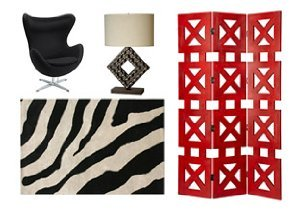 NEW MARKDOWNS: STATEMENT PIECES IN FURNITURE, RUGS & LIGHTING