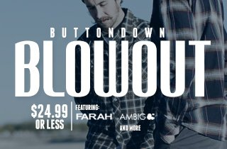 Buttondown Blowout