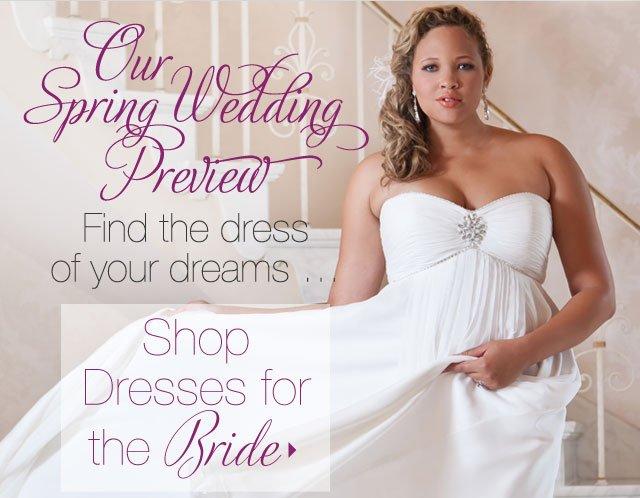 Shop Dresses For The Bride