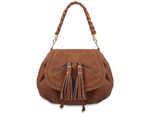 This bag has a touch of bohemian style and the faux leather is butter soft. It's an everyday essential!