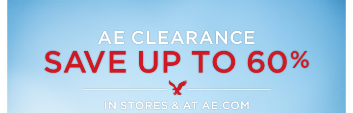 AE Clearance | Save Up To 60% | In Stores & At AE.com