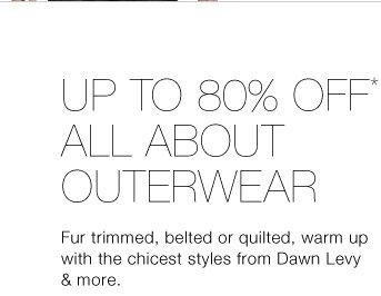Up To 80% Off* All About Outerwear