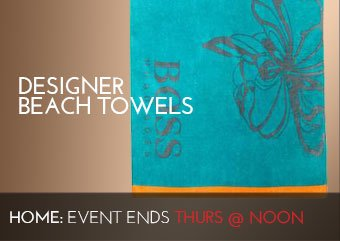 DESIGNER BEACH TOWELS