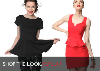 Look Peplum