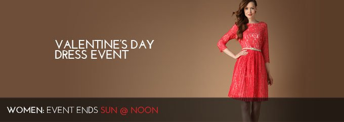 VALENTINE'S DAY DRESS EVENT