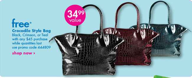 free* Crocodile Style Bag