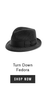 Turn Down Fedora