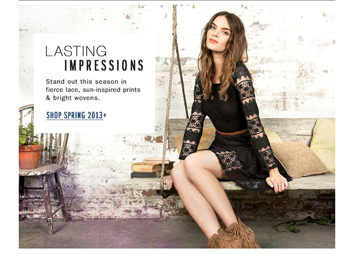 New for Spring: Make a lasting impression