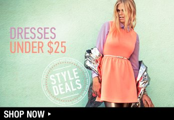 Dresses Under $25 - Shop Now