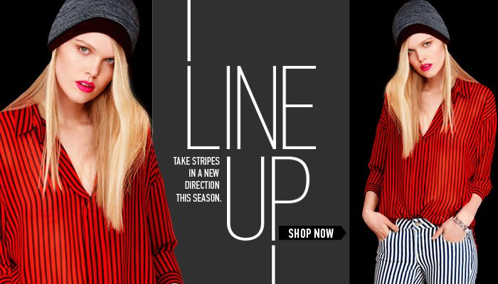 New Trend! Vertical Stripes - Shop Now