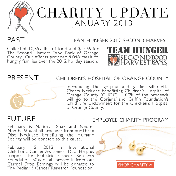 Charity Update