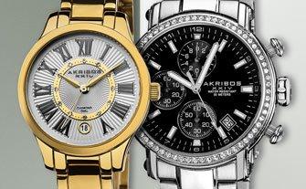 Akribos XXIV Watches- Visit Event