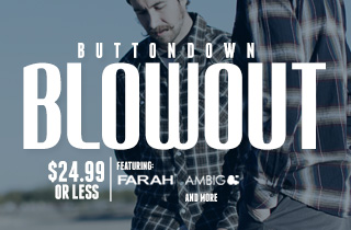 Buttondown Blowout
