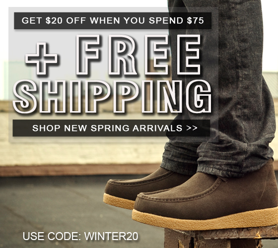 Winter Savings Sale: Get $20 Off $75 + Free Shipping