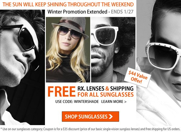 Winter Sunglasses Sale