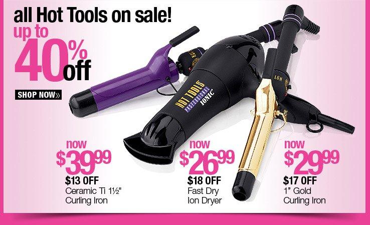 40% off Hot Tools