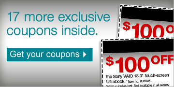 17 more  exclusive coupons inside. Get your coupons.