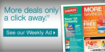 More  deals only a click away (††). See our Weekly  Ad.