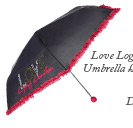 Love Logo Umbrella