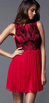 Cornelli Mesh Skirt Dress