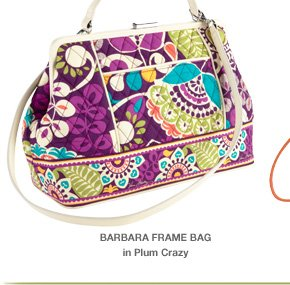 Barbara Frame Bag in Plum Crazy