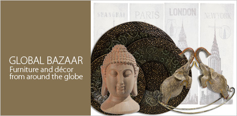 Global Bazaar - Furniture and Decor from around the globe