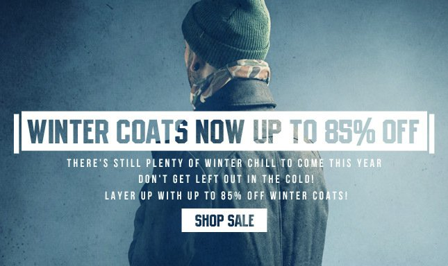 Winter Coats now up to 85% OFF! Shop Now on Karmaloop!