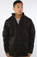 The Systems Field Jacket in Black