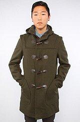 The 24oz Duffle Coat in Dark Loden