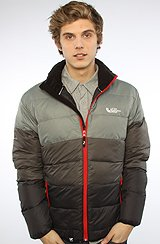 The Frozen Lake Puffy Jacket in Dark Charcoal