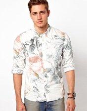ASOS Shirt With Floral Print
