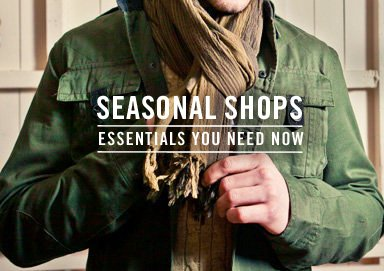 Shop Seasonal Shops: Essentials You Need