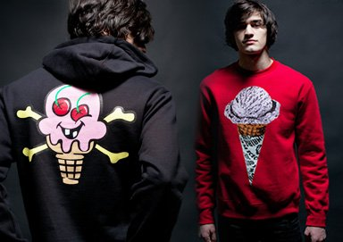 Shop ALL NEW: Icecream Graphic Gear