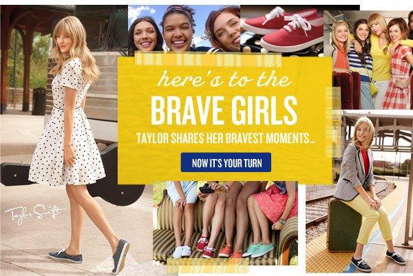 Here's to the Brave girls. Taylor shares her barvest moments. Now it's your turn >